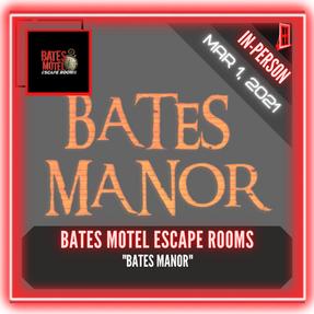 """Bates Motel Escape Rooms - """"Bates Manor"""""""