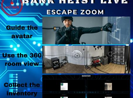 "REMOTE:  Red Lock Escape Room - ""Bank Heist"""