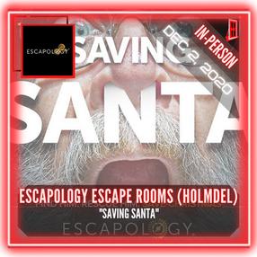 """Escapology Escape Rooms (Holmdel) - """"Saving Santa"""""""
