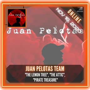 "Juan Pelotas Team - ""The Lemon Tree"", ""The Attic"", ""Pirate Treasure"""