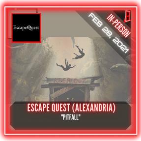 """Escape Quest (Alexandria) - """"Pitfall"""""""