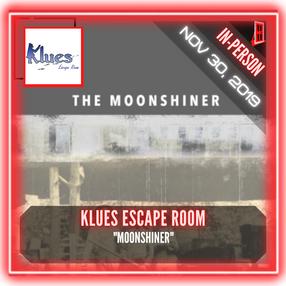 """Klues Escape Room - """"Moonshiner"""""""