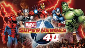 """Madame Tussauds NYC - """"Marvel 4D Film + Experience"""""""