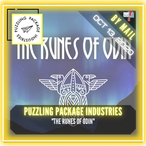 """Puzzling Package Industries - """"The Runes of Odin"""""""