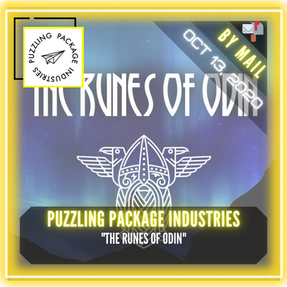 "Puzzling Package Industries - ""The Runes of Odin"""