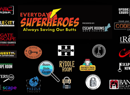 Escape Rooms of New England - Everyday Superheroes Always Saving Our Butts