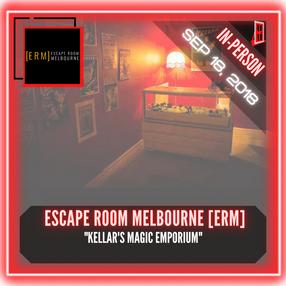 """Escape Room Melbourne (ERM) - """"Kellar's Magic Emporium"""""""