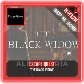 "Escape Quest (Alexandria) - ""The Black Widow"""