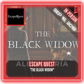 "Escape Quest - ""The Black Widow"""