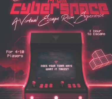 """Virtual Escape Games - """"REC: Escape The 80's Workout VHS"""" & """"CyberDox - Escape From Cyberspace"""""""