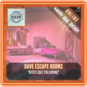 """Dave Escape Rooms - """"Rita's Cult Following"""""""