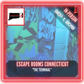 """🚪.    Escape Rooms Connecticut - """"The Terminal"""""""