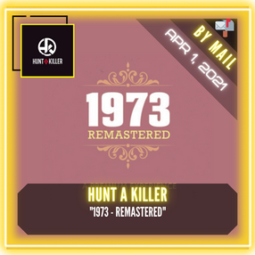 "Hunt A Killer - ""1973 - REMASTERED"""