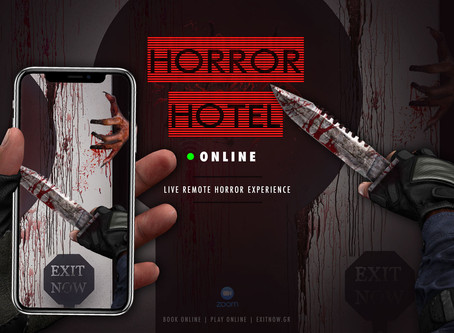 """REMOTE:  EXIT NOW - """"Horror Hotel"""""""