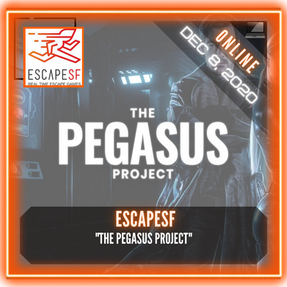 "Escape SF - ""The Pegasus Project"""