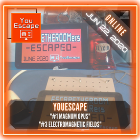"""YouEscape - """"#1 Magnum Opus"""" & """"#3 Electromagnetic Fields"""""""