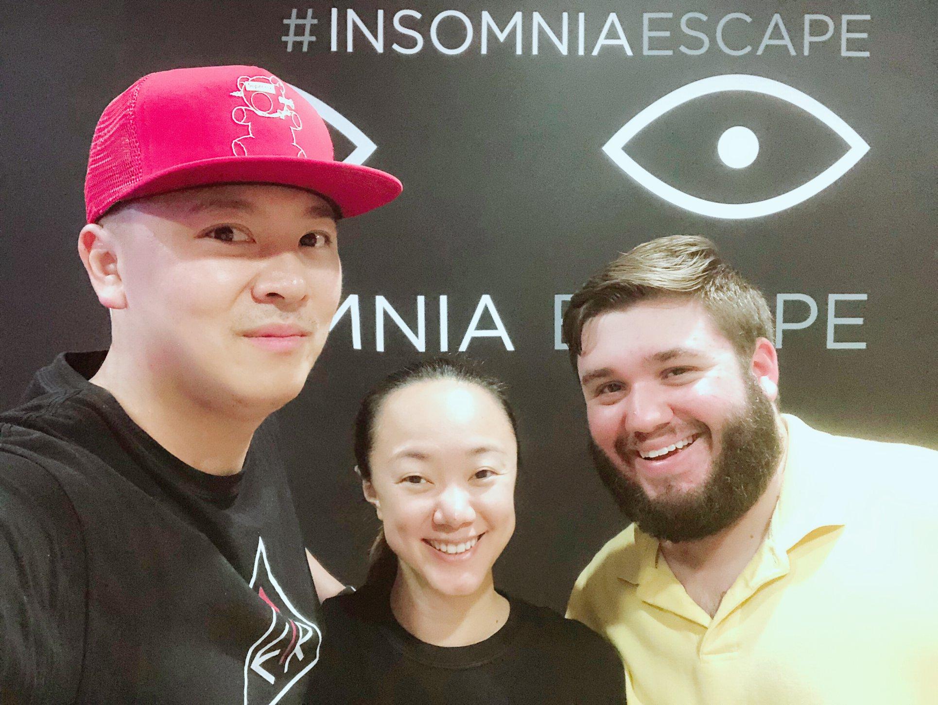 Insomnia Escape Room DC