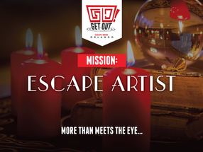 "Get Out!  Escape Room Orlando - ""Escape Artist"""