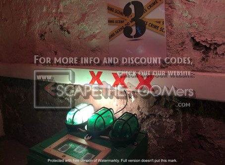"""ParaPark Escape Rooms - """"Crime Scene '95"""""""