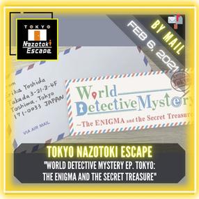"""Tokyo Nazotoki Escape - """"World Detective Mystery - EP. Tokyo (The ENIGMA and the Secret Treasure) """""""