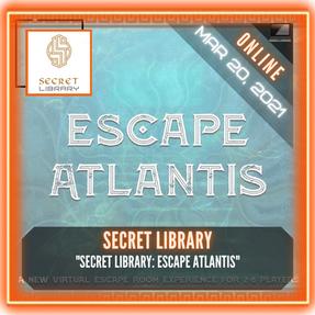 """Secret Library - """"Escape Atlantis"""""""