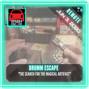 "REMOTE:  BRUUM Escape - ""The Search for the Magical Artifact"""