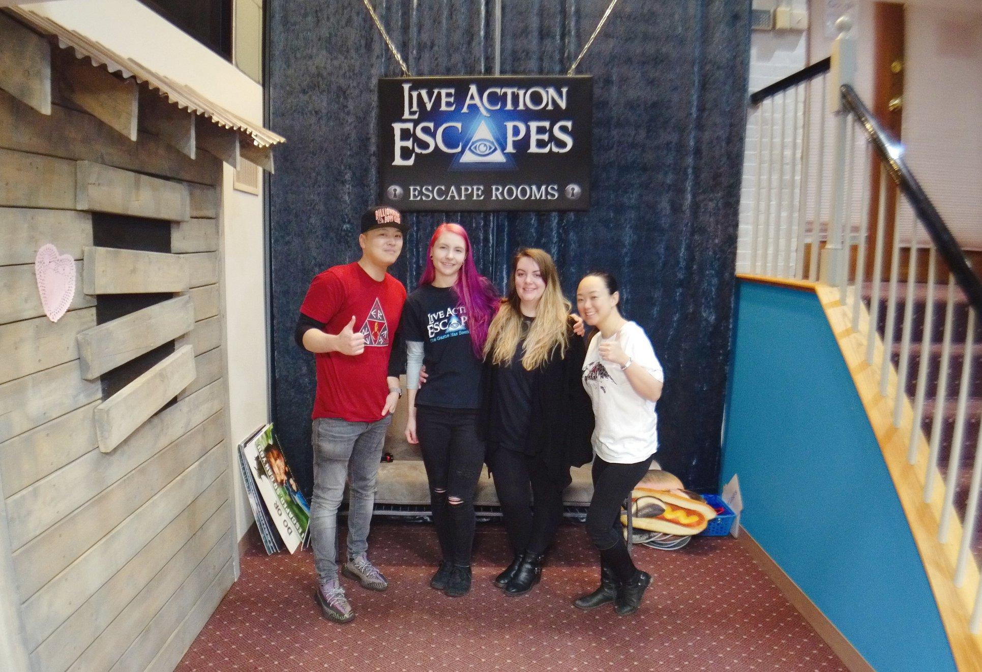 Live Action Escapes