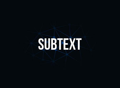 """William O'Connell - """"Subtext"""""""