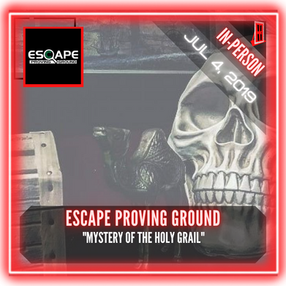 """Escape Proving Ground - """"Mystery of the Holy Grail"""""""