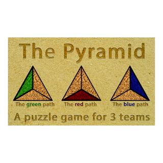 """BRONZE WINNER: """"The Pyramid"""""""