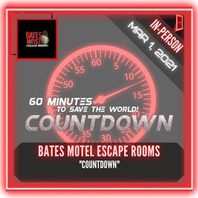 "Bates Motel Escape Rooms - ""Countdown"""