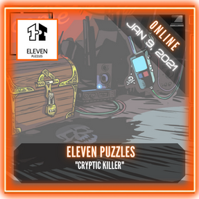 "Eleven Puzzles - ""Unboxing The Mind Of A Cryptic Killer"""