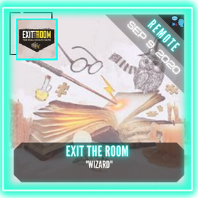 "REMOTE:  Exit The Room - ""Wizard"""