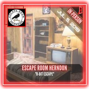 """Escape Room Herndon - """"8-Bit Escape"""""""