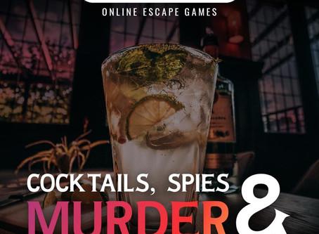 """Questventure - """"Cocktails, Spies & Murder"""""""