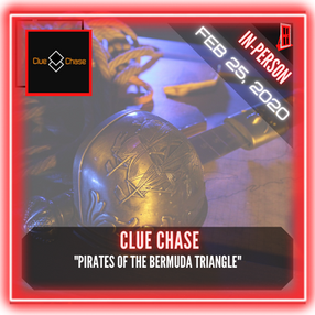 """Clue Chase - """"Pirates of the Bermuda Triangle"""""""
