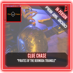 "Clue Chase - ""Pirates of the Bermuda Triangle"""