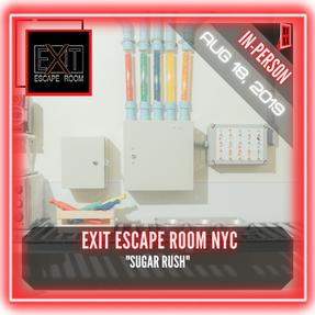 """Exit Escape Room NYC - """"Sugar Rush"""""""