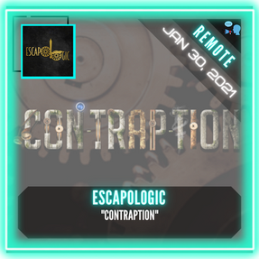 "REMOTE:  ESCAPOLOGIC - ""Contraption"""