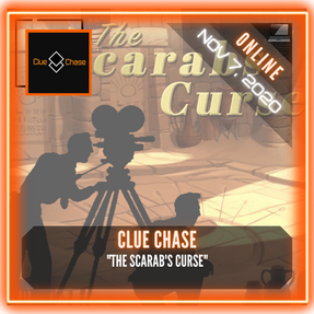"""Clue Chase - """"The Scarab's Curse"""""""