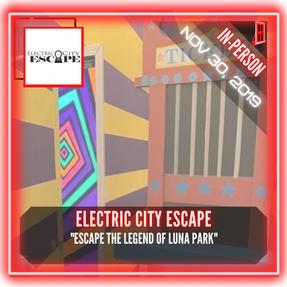 """Electric City Escape - """"Escape the Legend of Luna Park"""""""