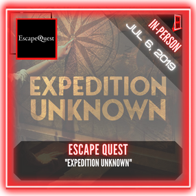 """Escape Quest (Bethesda) - """"Expedition Unknown"""""""
