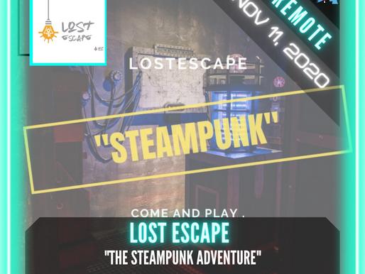 """🗣.    REMOTE:  Lost Escape - """"The Steampunk Adventure"""""""
