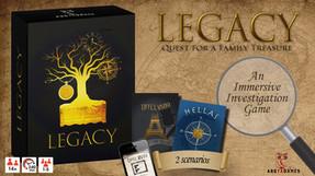"""ARGYX Games - """"Legacy - Hellas"""""""