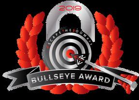 ESCAPETHEROOMers' 2019 Bullseye award winners!