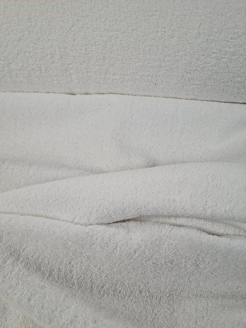 Cotton Towelling White