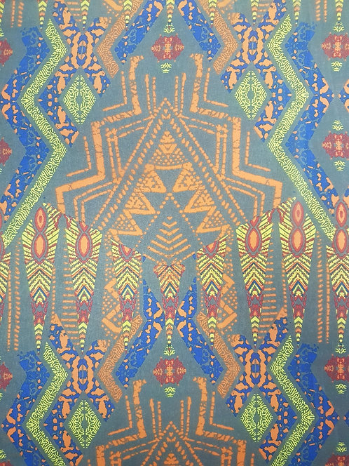 Stained Glass Polyester Chiffon