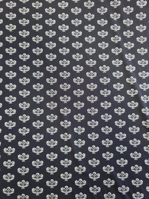 Mini Crown Polyester Crepe De Chine