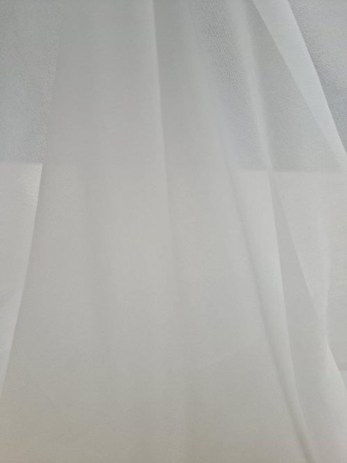 Silk Georgette Slik White