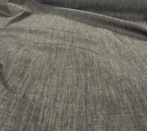 Crosshatch Stretch Denim Gray/Black